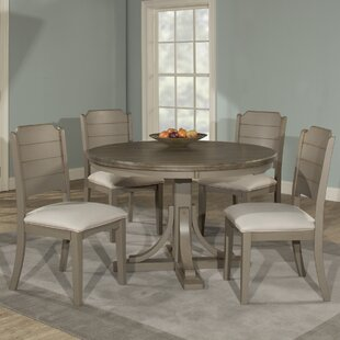 Kinsey 5 Piece Wire Brushed Dining Set ByRosecliff Heights