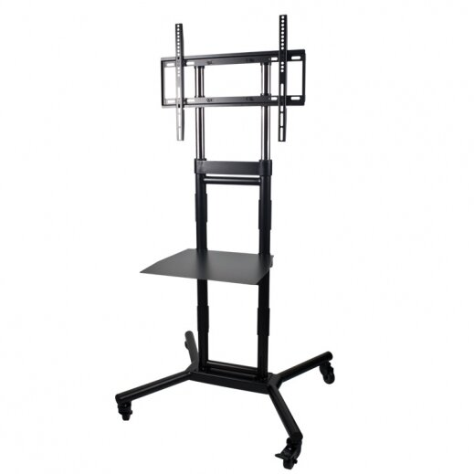 Rolling TV Audio Floor Stand Mount By Audio Solutions