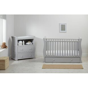 Montreal Cot 2 Piece Nursery Furniture Set