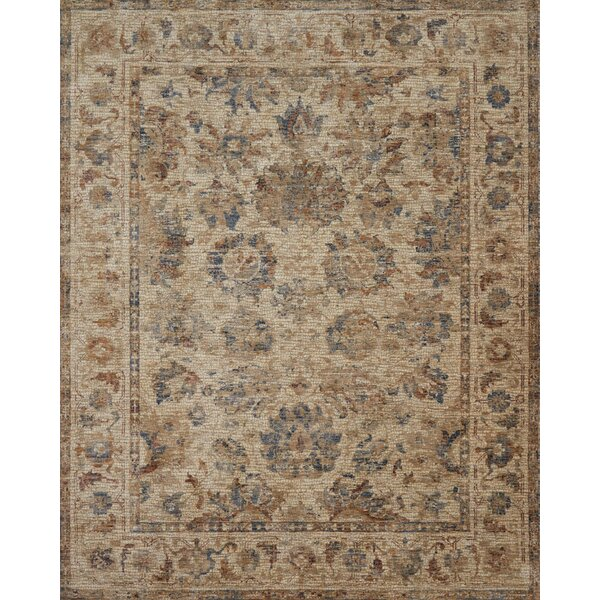 Dietrick Natural Area Rug by Bloomsbury Market