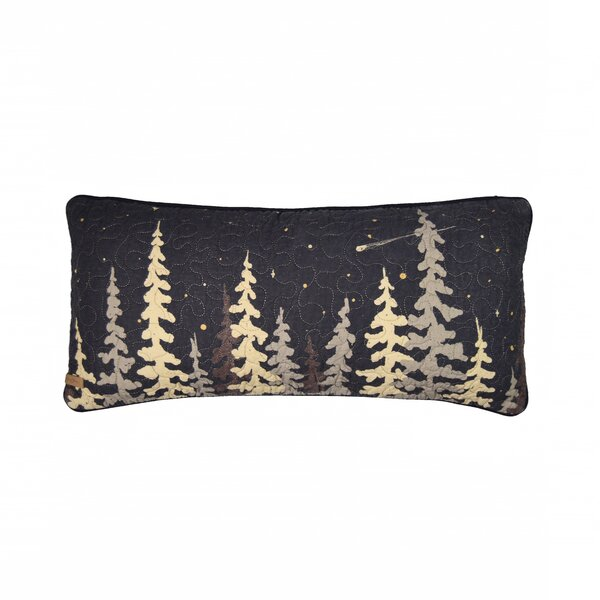 Galey Moonlit Cabin Cotton Lumbar Pillow by Millwood Pines