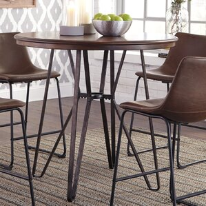 Joesph Counter Height Pub Table by Williston Forge