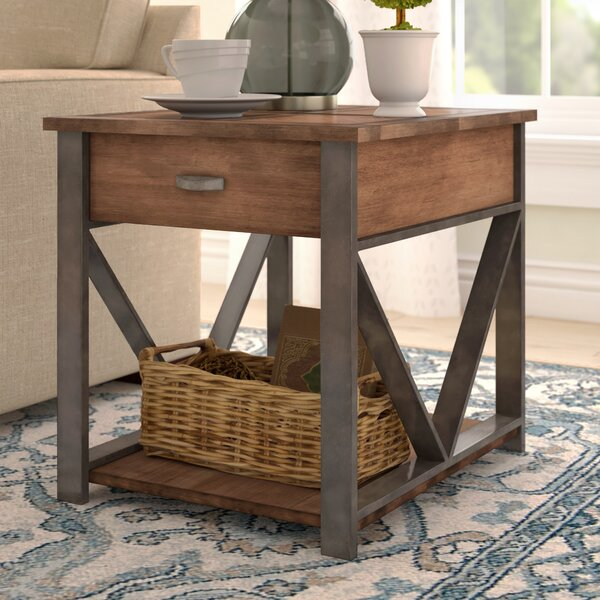 Astra End Table with Storage by Gracie Oaks