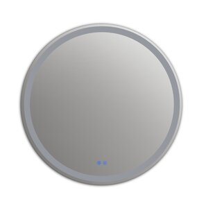 Affordable Bode Back Lit LED Bathroom Mirror By Orren Ellis