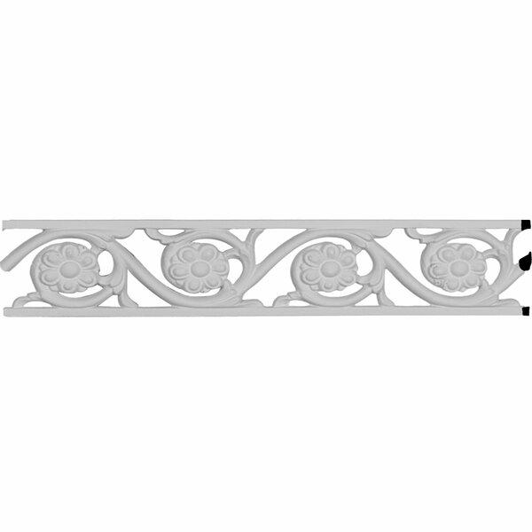 Delfina Pierced 2 1/8H x 79W x 3/8D Panel Moulding by Ekena Millwork