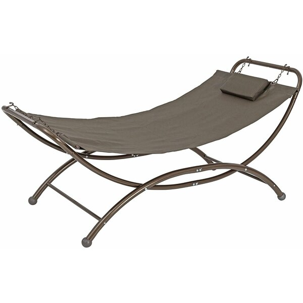 Spann Patio Hanging Chaise Lounger with Stand by Freeport Park