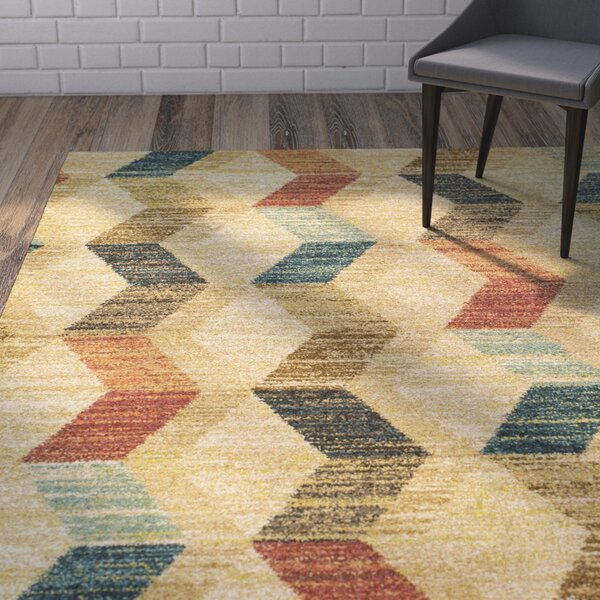 Brayden Sand Area Rug by Wrought Studio