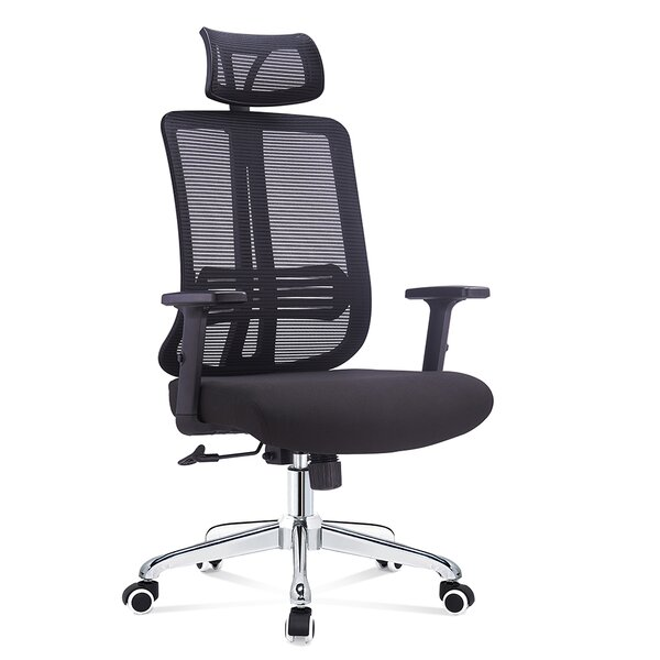 Pinnix High Back Multi Function Ergonomic Mesh Office Chair by Wrought Studio