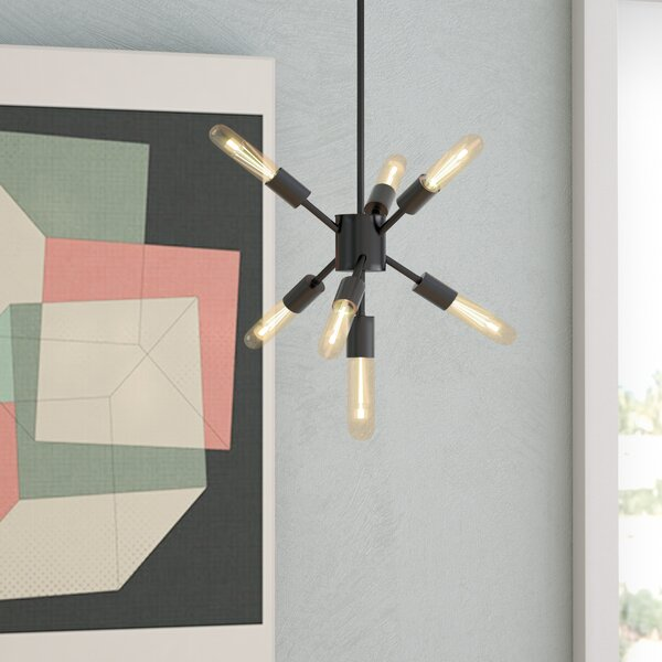 Fairways 7-Light Sputnik Chandelier by Langley Street