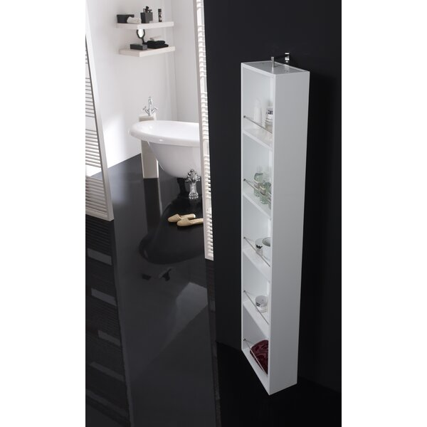 Due 12 W x 70 H Wall Mounted Cabinet by Hispania Home