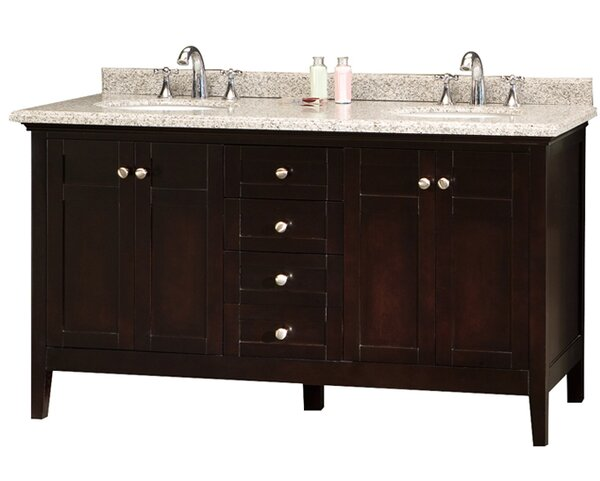 Reni 60 Double Bathroom Vanity Set by Ove Decors