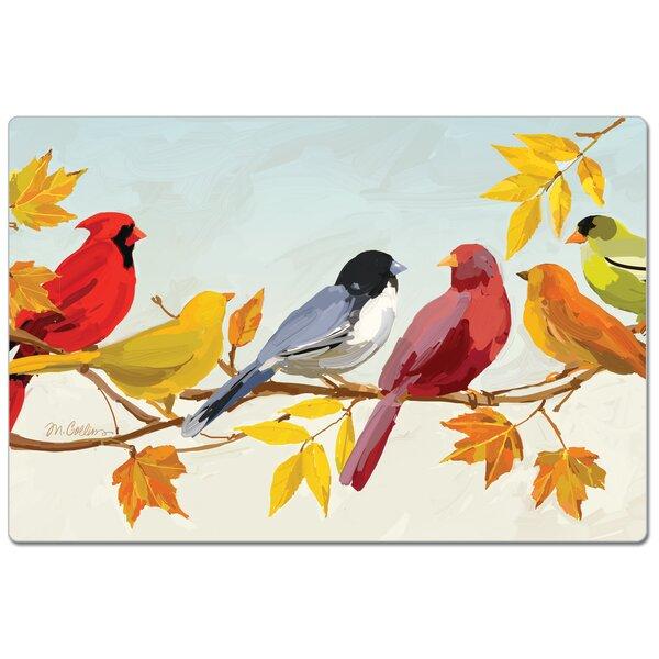Fall Birds Comfort Anti-Fatigue Mat