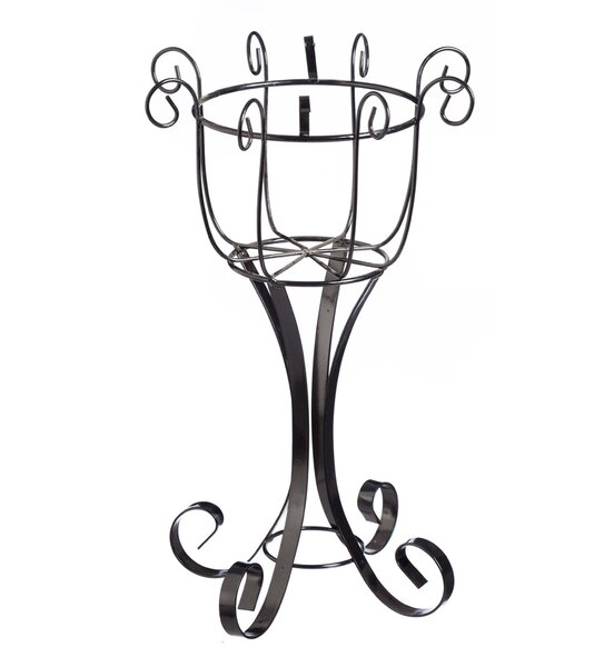 Bailee Scroll Pedestal Plant Stand by Ophelia & Co.