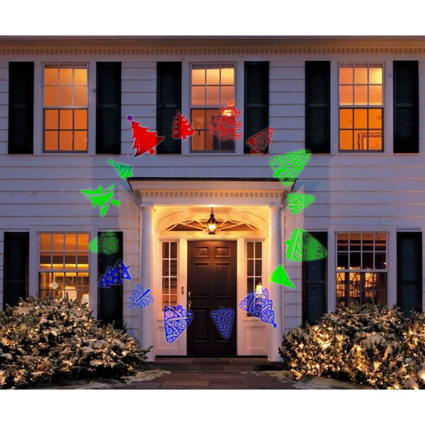 3 Light Snowflake Projector Lights by The Holiday Aisle