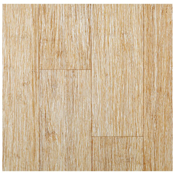 4-3/4 Solid Strand Woven Bamboo  Flooring in Summer Wheat by Easoon USA
