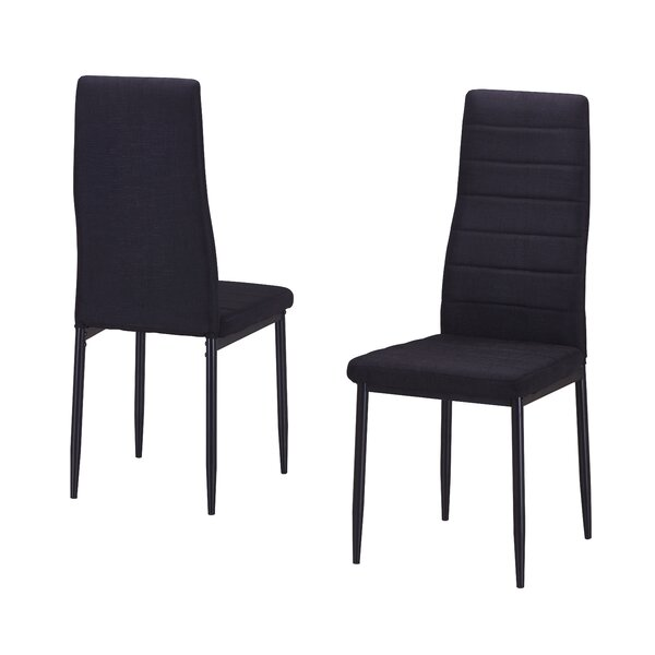 Nuss Upholstered Dining Chair (Set of 2) by Ebern Designs