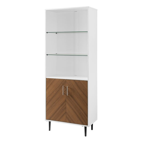Ghonge Bookmatch Hutch China Cabinet by Wrought Studio Wrought Studio