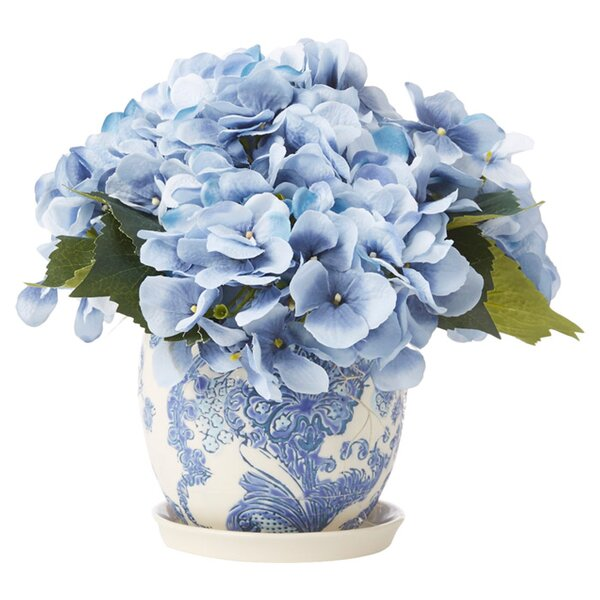 Faux Blue Hydrangea by Creative Displays, Inc.