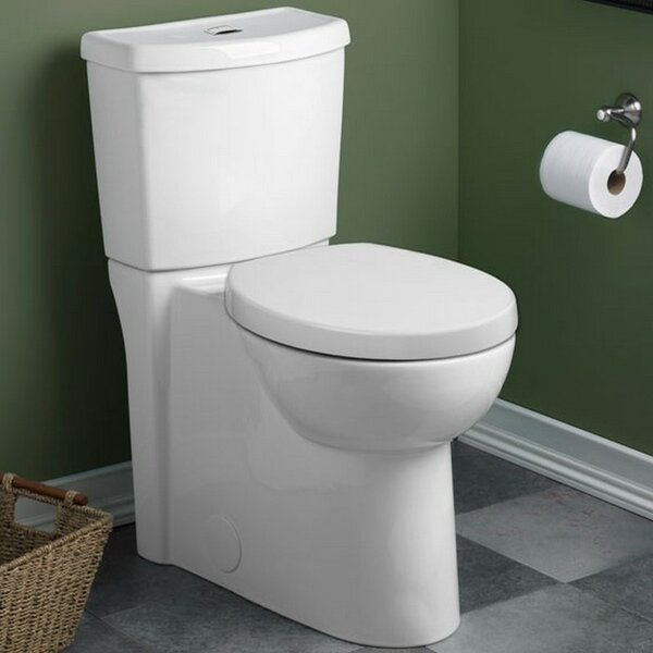 Studio 1.6 GPF Elongated Two-Piece Toilet by American Standard