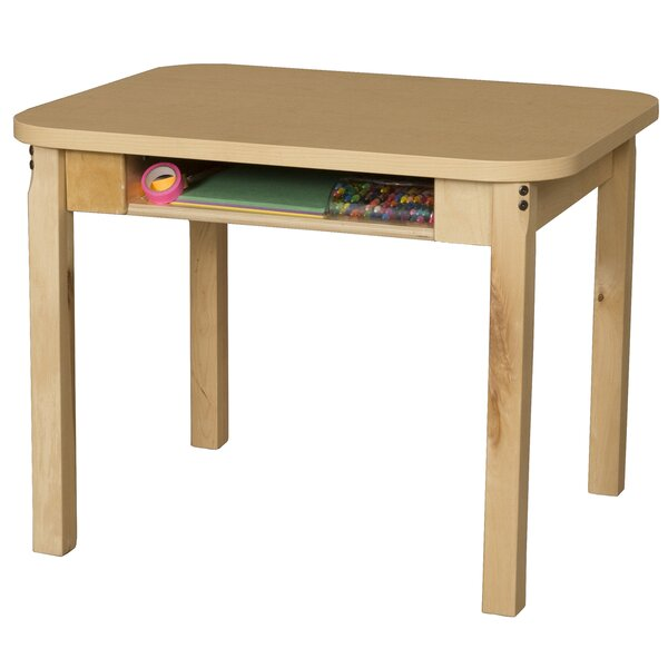 Manufactured Wood 25 Open Front Desk by Wood Designs