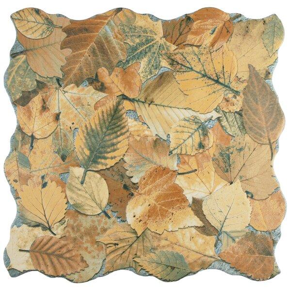 Piel 17.75 x 17.75 Porcelain Field Tile in Ocre by EliteTile