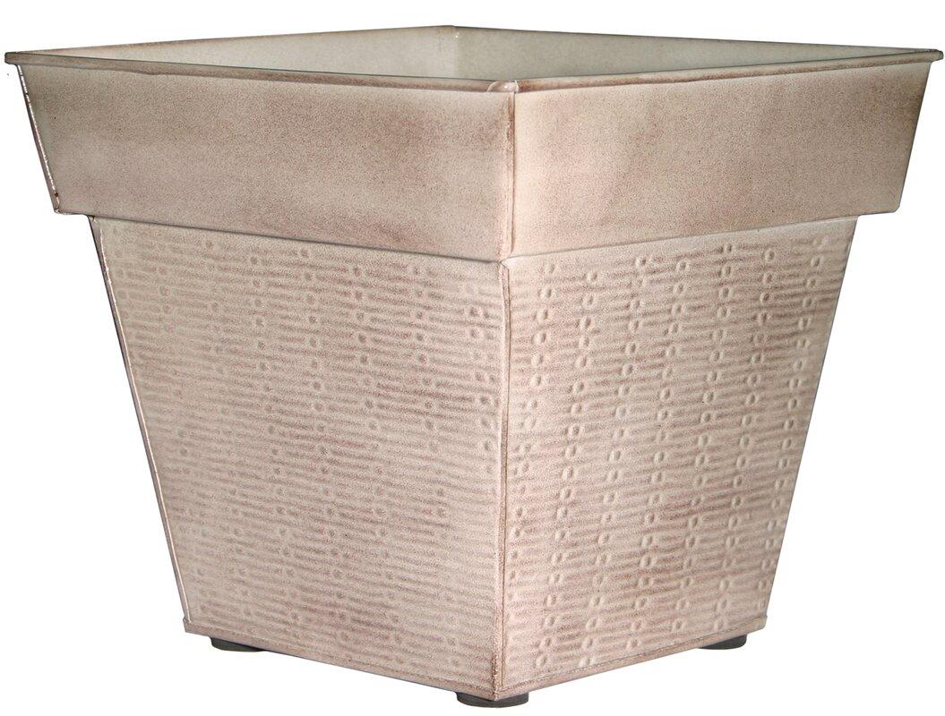 Windsor Metal Pot Planter