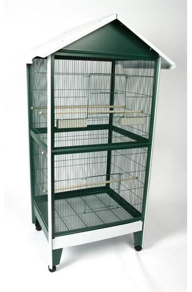 Mcginley Large Pitched Roof Bird Aviary by Tucker Murphy Pet