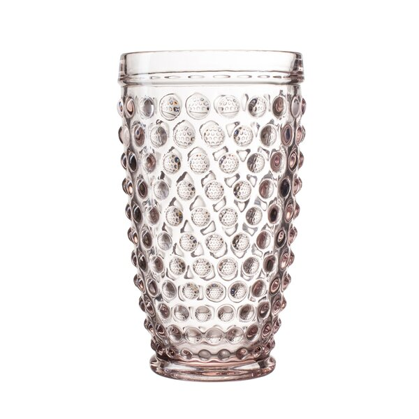Bistro Dot Glass Highball Glass (Set of 4) by Elle Decor