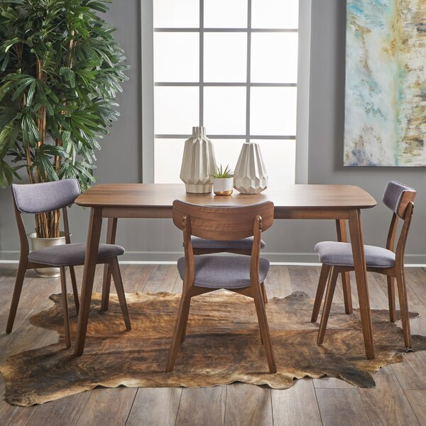 Henry 5 Piece Wood Dining Set by George Oliver