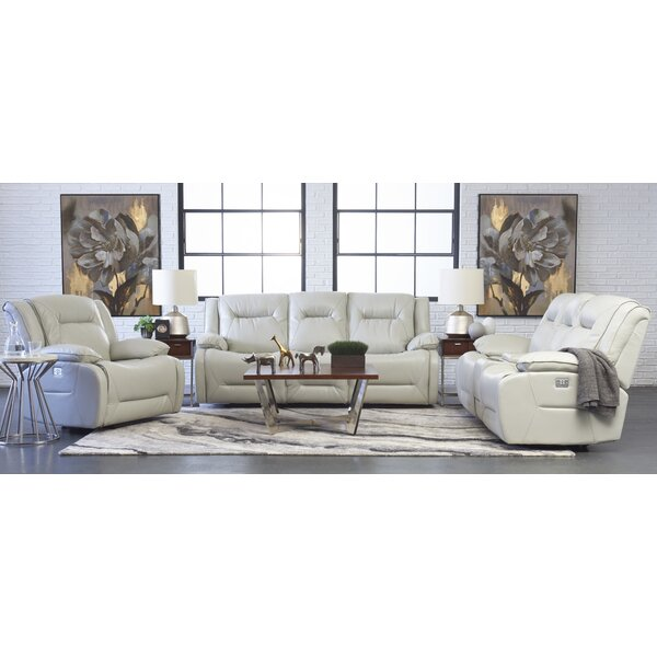 Rutan Reclining Configurable Living Room Set by Charlton Home