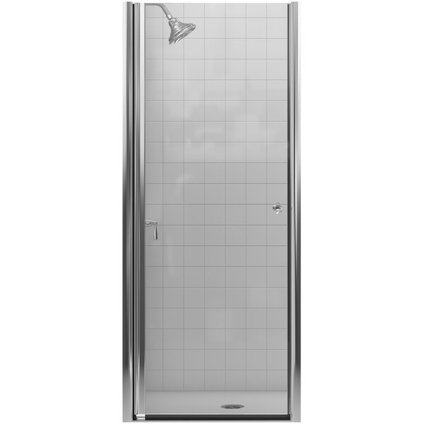 Fluence 30.25'' x 65.5 Pivot Shower Door with CleanCoat® Technology by Kohler