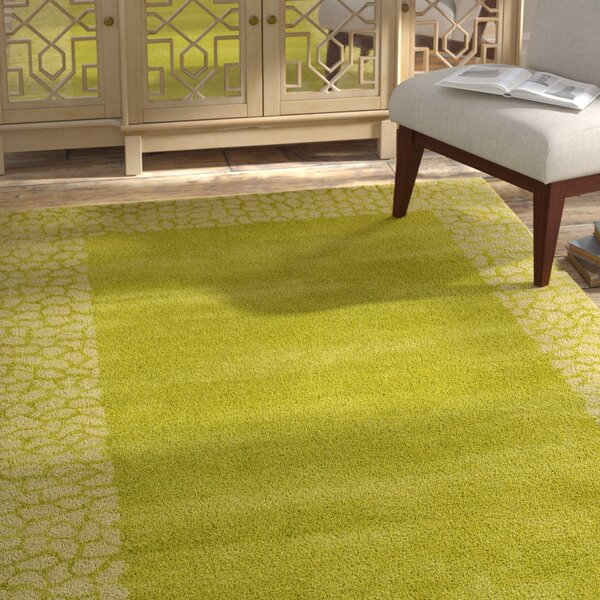Dorthy Light Green Area Rug by Bloomsbury Market
