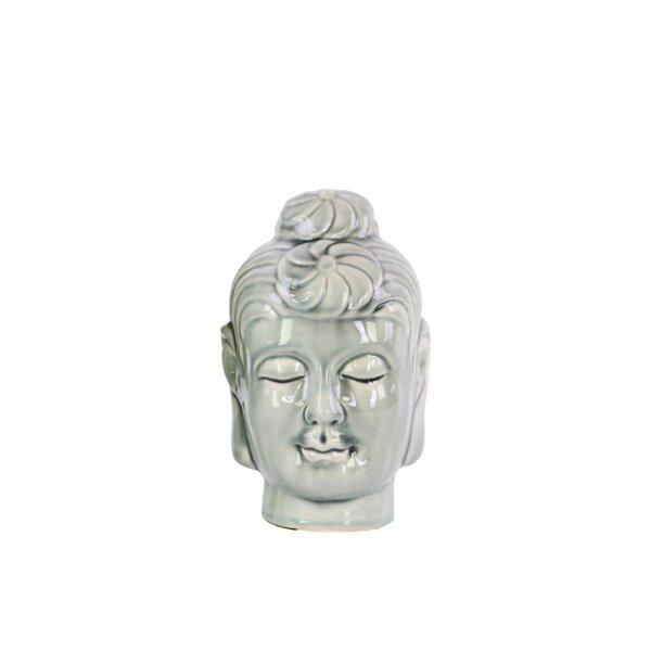 Veroniza Buddha Head Bust by World Menagerie