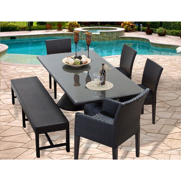 Napa 6 Piece Dining Set by TK Classics