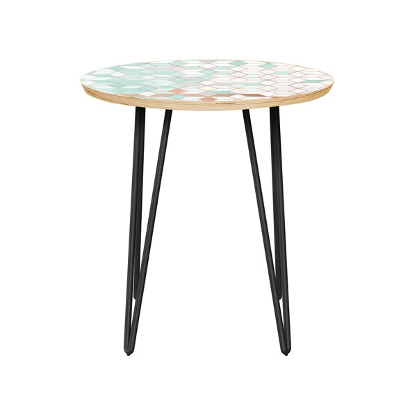 Vandalia End Table by Bungalow Rose