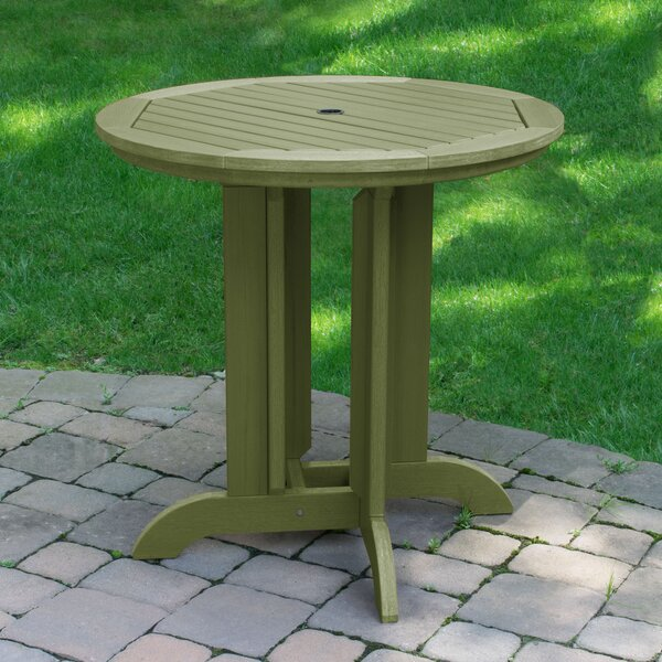 Charlcombe Round Counter Dining Table by Longshore Tides
