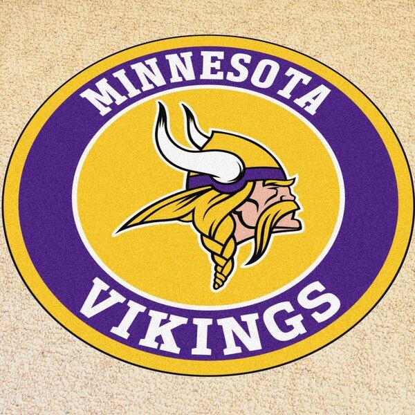 NFL Minnesota Vikings Roundel Mat by FANMATS
