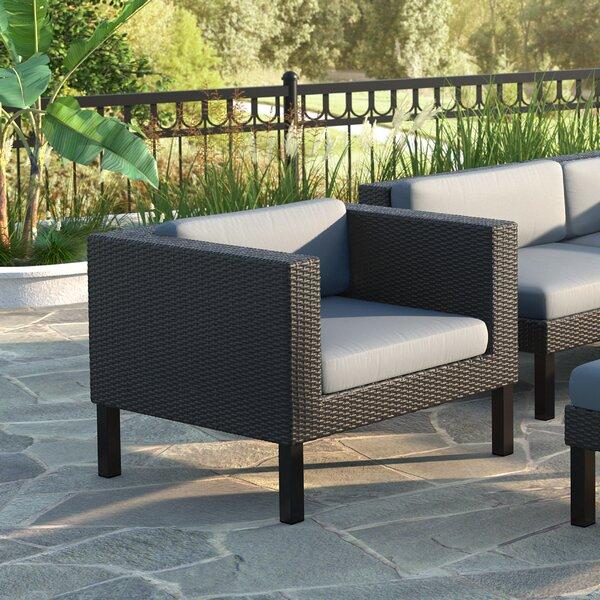 Socha Lounge Chair with Cushion by Wrought Studio