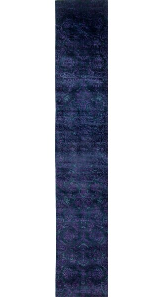 One-of-a-Kind Vibrance Hand-Knotted Blue / Purple Area Rug by Darya Rugs