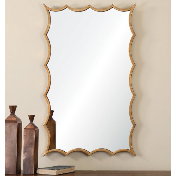Irregular Accent Mirror by Willa Arlo Interiors