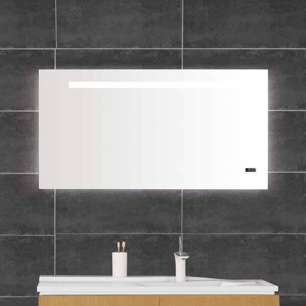 Vento 42 x 22 Surface mount Medicine Cabinet with LED Lighting by Ronbow