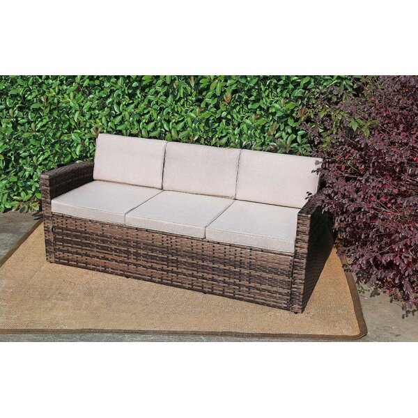Reign Patio Loveseat with Cushions by Highland Dunes Highland Dunes