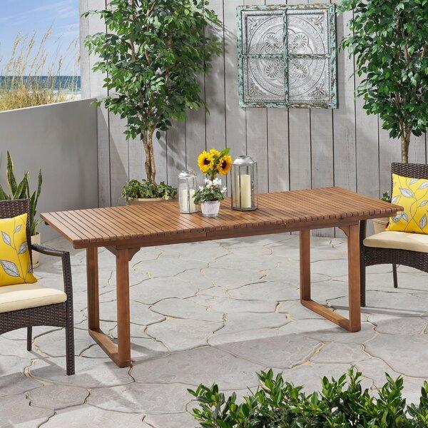 Naveena Extendable Wooden Dining Table by Latitude Run Latitude Run