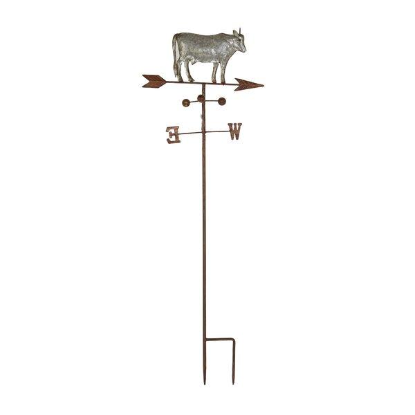 Farmhouse Cow on Weathervane Gothic Trellis by Cole & Grey
