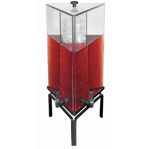 4.2 Gal 2 Spigot Beverage Dispenser by Cal-Mil