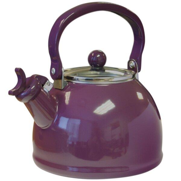 Ingatestone 2.2 Qt. Whistling Stainless Steel Tea Kettle by Alcott Hill