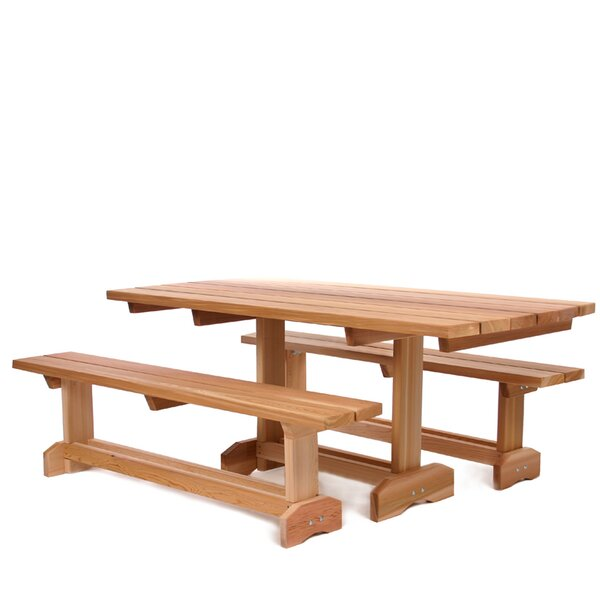 3 Piece Dining Set by All Things Cedar