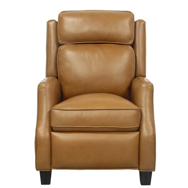 Rodrick Leather Manual Recliner by Canora Grey