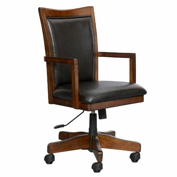 Keefe Desk Chair by Loon Peak