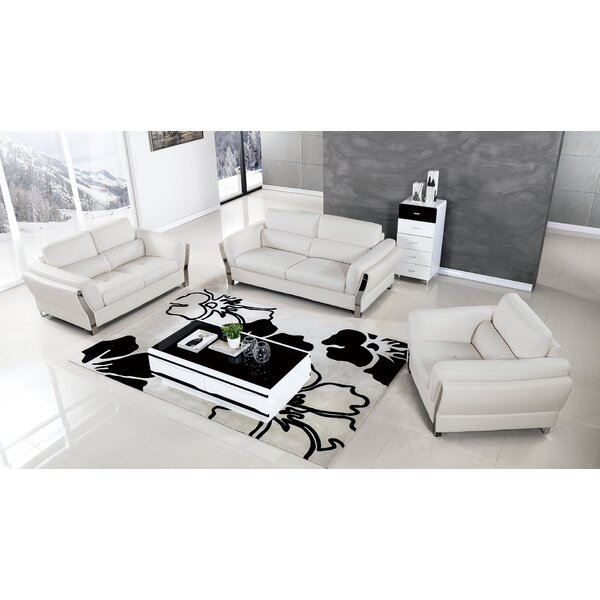 Henke 3 Piece Living Room Set by Orren Ellis